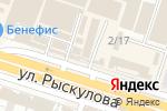 Схема проезда до компании Магазин автозапчастей и аксессуаров в Шымкенте
