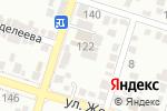 Схема проезда до компании Акзия А, ТОО в Шымкенте