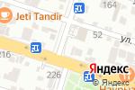 Схема проезда до компании Цифровая живопись в Шымкенте