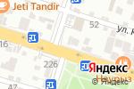 Схема проезда до компании Ниагара в Шымкенте