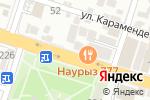 Схема проезда до компании АҚ-ТІЛЕК в Шымкенте