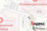 Схема проезда до компании БиоРитм в Шымкенте