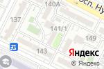 Схема проезда до компании Кабинет массажа в Шымкенте