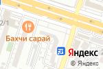 Схема проезда до компании ТЕХАС в Шымкенте