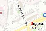 Схема проезда до компании БУРМА в Шымкенте
