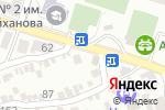 Схема проезда до компании Швейное ателье в Шымкенте