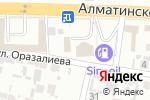 Схема проезда до компании Цех по изготовлению корпусной мебели в Шымкенте