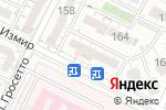 Схема проезда до компании ДАР-РЕДО в Шымкенте