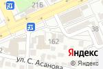 Схема проезда до компании Люкс в Шымкенте