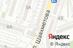 Схема проезда до компании Шуақ в Шымкенте
