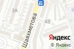 Схема проезда до компании Richie в Шымкенте