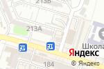 Схема проезда до компании Казахское общество слепых, ОО в Шымкенте