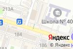 Схема проезда до компании Миледи в Шымкенте
