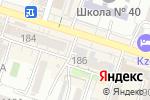 Схема проезда до компании Эркин в Шымкенте