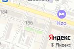 Схема проезда до компании NEW DENTAL XXI в Шымкенте