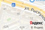 Схема проезда до компании БИИК, ТОО в Шымкенте