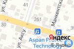 Схема проезда до компании Ух-тышка в Шымкенте