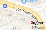Схема проезда до компании 1xbet в Шымкенте