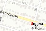 Схема проезда до компании Ергеш Ата в Шымкенте