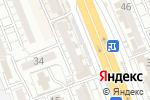 Схема проезда до компании Центр оказания юридических консультаций в Шымкенте