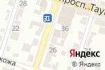 Схема проезда до компании Курбан-ата в Шымкенте