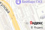 Схема проезда до компании Байрух в Шымкенте