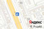 Схема проезда до компании Профессиональная школа красоты Рахимбаева Н. в Шымкенте