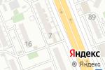 Схема проезда до компании Хилтон в Шымкенте