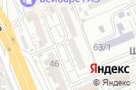 Схема проезда до компании UNIKASSA, ТОО в Шымкенте