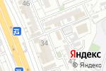 Схема проезда до компании Радость в Шымкенте