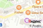 Схема проезда до компании Шеш-Беш в Шымкенте