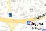 Схема проезда до компании NOMAD insurance в Шымкенте