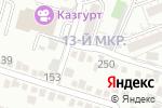 Схема проезда до компании Витязь в Шымкенте