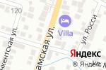 Схема проезда до компании Бейбарыс в Шымкенте