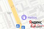 Схема проезда до компании Helios в Шымкенте