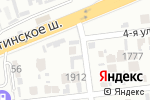 Схема проезда до компании Жасыл желек в Шымкенте