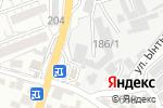 Схема проезда до компании Автосервис в Шымкенте