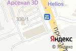 Схема проезда до компании MIRAGE в Шымкенте