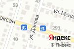 Схема проезда до компании Эдем в Шымкенте