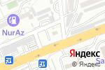 Схема проезда до компании Next в Шымкенте