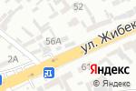 Схема проезда до компании Строй Азия в Шымкенте