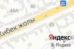 Схема проезда до компании Дияр в Шымкенте