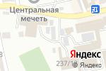 Схема проезда до компании Мир в Шымкенте