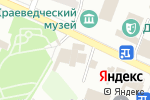 Схема проезда до компании ИБН СИНО в Шымкенте