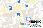 Схема проезда до компании Спутник в Шымкенте