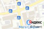 Схема проезда до компании Магазин женской одежды и обуви в Шымкенте