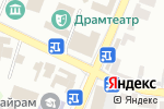Схема проезда до компании Ателье в Шымкенте