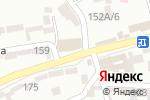Схема проезда до компании Магазин мебели на заказ в Шымкенте