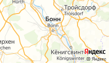 Отели города Бонн на карте