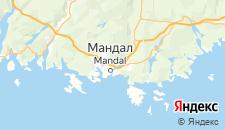 Отели города Мандал на карте